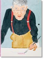 Cover for David Hockney. A Chronology. 40th Ed. by David Hockney