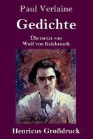 Cover for Gedichte (Grossdruck) by Paul Verlaine