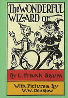 Cover for Wonderful Wizard of Oz Minibook by L Frank Baum