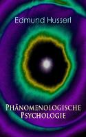 Cover for Ph nomenologische Psychologie  by Edmund Husserl