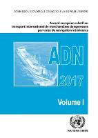 Cover for ADN 2017 (French Edition)  by United Nations Economic Commission for Europe (UNECE)