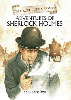 Cover for Om Illustrated Classics Adventures of Sherlock Homes by Arthur Conan Doyle
