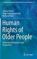 Cover for Human Rights of Older People  by Claudia Martin, Diego Rodriguez-Pinzon, Bethany Brown