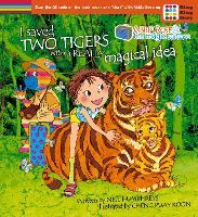 Cover for Abbie Rose and the Magic Suitcase Saved Two Tigers with a Really Magical Idea by Neil Humphreys