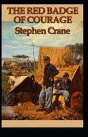 Cover for The Red Badge of Courage annotated by Stephen Crane