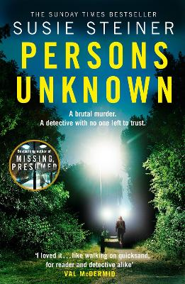 Cover for Persons Unknown by Susie Steiner