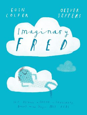 Cover for Imaginary Fred by Eoin Colfer