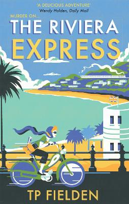 Cover for The Riviera Express by T. P. Fielden