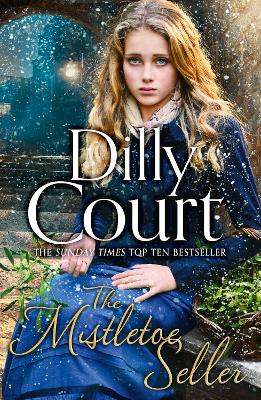 Book Cover for The Mistletoe Seller by Dilly Court