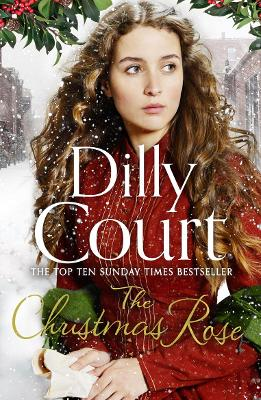 Book Cover for The Christmas Rose by Dilly Court