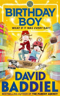 Cover for Birthday Boy by David Baddiel