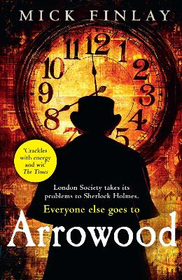 Cover for Arrowood by Mick Finlay