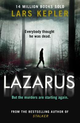 Cover for Lazarus by Lars Kepler