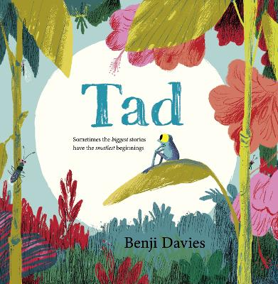 Cover for Tad by Benji Davies