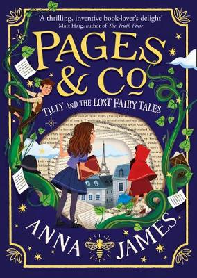 Cover for Pages & Co.: Tilly and the Lost Fairy Tales by Anna James