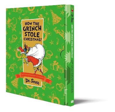 Cover for How The Grinch Stole Christmas by Dr. Seuss