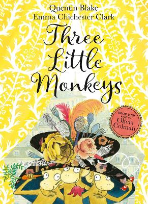 Cover for Three Little Monkeys by Quentin Blake