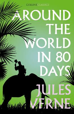 Cover for Around the World in Eighty Days by Jules Verne