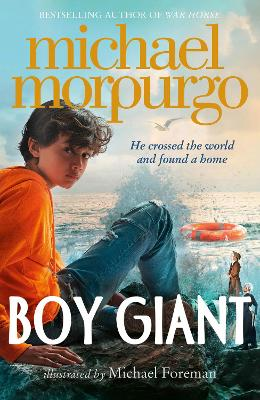 Cover for Boy Giant by Michael Morpurgo