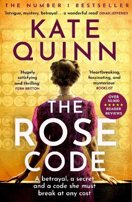 Cover for The Rose Code by Kate Quinn
