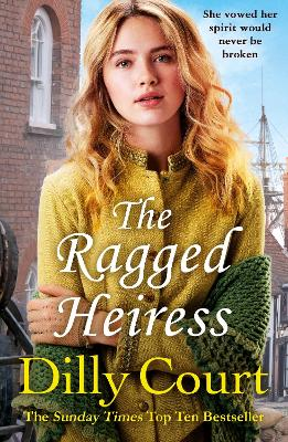 Book Cover for The Ragged Heiress by Dilly Court