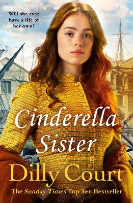 Book Cover for Cinderella Sister by Dilly Court