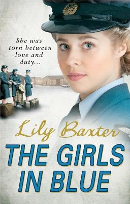 Book Cover for The Girls in Blue by Lily Baxter