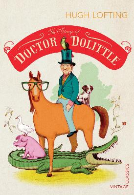 Cover for The Story of Doctor Dolittle by Hugh Lofting