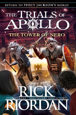 Cover for The Tower of Nero by Rick Riordan