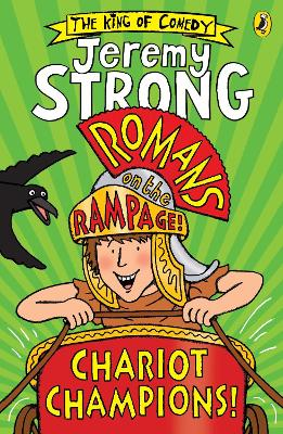 Cover for Romans on the Rampage: Chariot Champions by Jeremy Strong