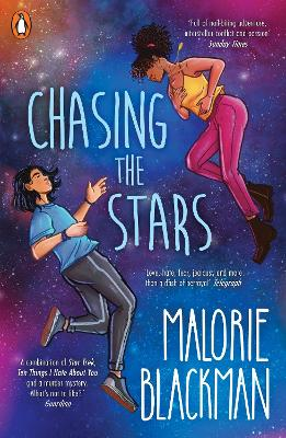 Cover for Chasing the Stars by Malorie Blackman
