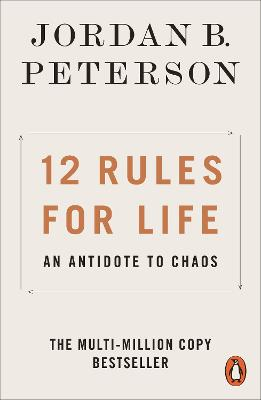 Cover for 12 Rules for Life An Antidote to Chaos by Jordan B. Peterson