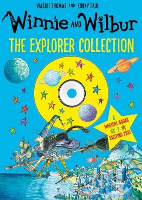 Cover for Winnie and Wilbur: The Explorer Collection by Valerie Thomas