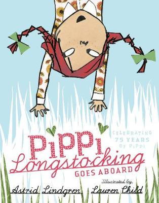 Book Cover for Pippi Longstocking Goes Aboard by Astrid Lindgren