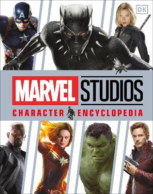 Cover for Marvel Studios Character Encyclopedia by Adam Bray