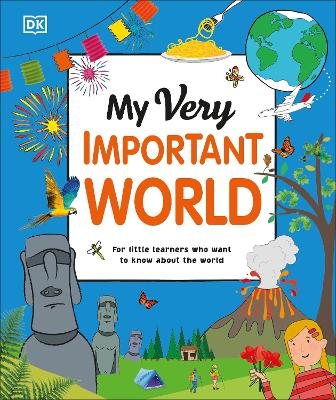 Cover for My Very Important World by DK