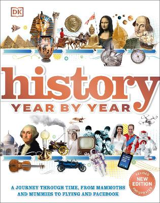 Cover for History Year by Year  by DK