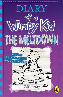 Cover for Diary of a Wimpy Kid: The Meltdown (Book 13) by Jeff Kinney