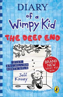 Cover for Diary of a Wimpy Kid: The Deep End (Book 15) by Jeff Kinney