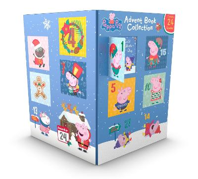 Cover for Peppa Pig: Advent Book Collection by Peppa Pig
