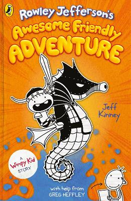 Cover for Rowley Jefferson's Awesome Friendly Adventure by Jeff Kinney