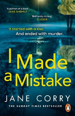 Cover for I Made a Mistake  by Jane Corry