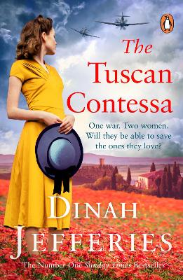 Book Cover for The Tuscan Contessa by Dinah Jefferies