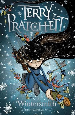 Cover for Wintersmith by Terry Pratchett