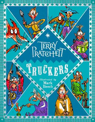 Cover for Truckers Illustrated edition by Terry Pratchett