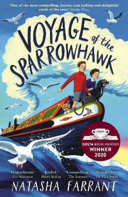 Cover for Voyage of the Sparrowhawk by Natasha Farrant