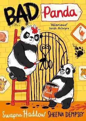 Cover for Bad Panda by Swapna Haddow
