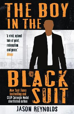 Cover for The Boy in the Black Suit by Jason Reynolds