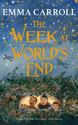 Cover for The Week at World's End by Emma Carroll