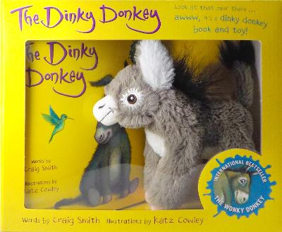 The Dinky Donkey Book and Toy